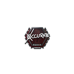 Sticker | xccurate | London 2018