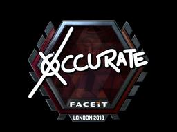 xccurate | London 2018