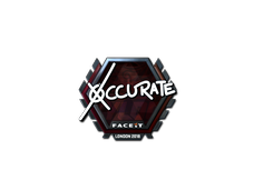 Skin Sticker | xccurate (Foil) | London 2018