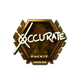 xccurate (Gold) | London 2018
