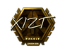 Skin Sticker | Xizt (Gold) | London 2018