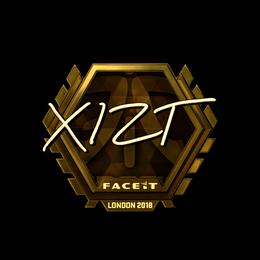 Xizt (Gold) | London 2018