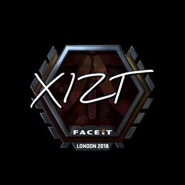 Xizt (Foil)   London 2018
