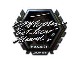Sticker | GeT_RiGhT (Foil) | London 2018