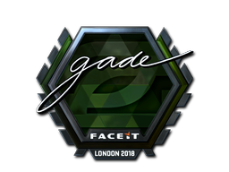 Sticker | gade (Foil) | London 2018