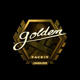 Golden (Gold)   London 2018