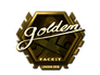 Skin Sticker | Golden (Gold) | London 2018