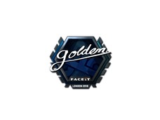 Skin Sticker | Golden (Foil) | London 2018