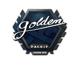 Sticker | Golden | London 2018