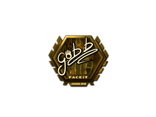Skin Sticker | gob b (Gold) | London 2018