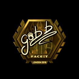 gob b (Gold) | London 2018