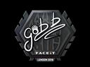 Sticker | gob b | London 2018