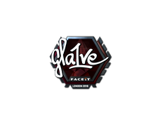 Skin Sticker | gla1ve (Foil) | London 2018