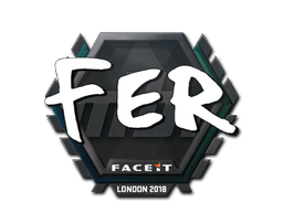 Sticker | fer | London 2018