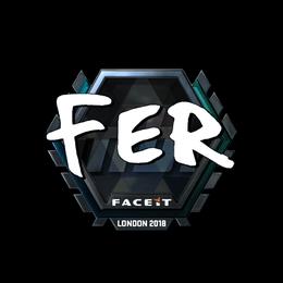 fer (Foil) | London 2018