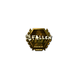 Sticker | FalleN (Gold) | London 2018