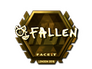 Skin Sticker | FalleN (Gold) | London 2018