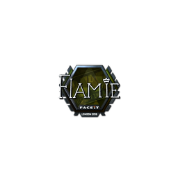 Sticker | flamie (Foil) | London 2018