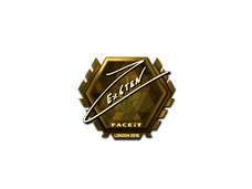 Skin Sticker | Ex6TenZ (Gold) | London 2018