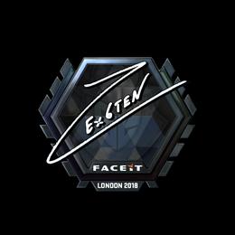 Ex6TenZ (Foil)   London 2018