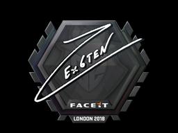 Наклейка | Ex6TenZ | Лондон 2018