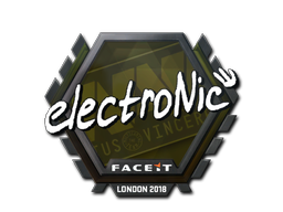 Sticker | electronic | London 2018