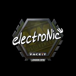 electronic | London 2018