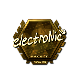 electronic (Gold) | London 2018