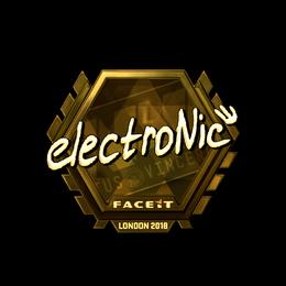 electronic (Gold) | London 2018