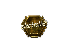 Skin Sticker | electronic (Gold) | London 2018