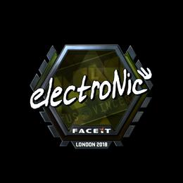 electronic (Foil) | London 2018