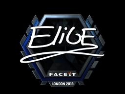 EliGE | London 2018