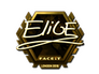 Skin Sticker | EliGE (Gold) | London 2018