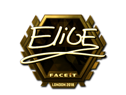 Sticker | EliGE (Gold) | London 2018