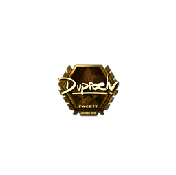 Sticker | dupreeh (Gold) | London 2018