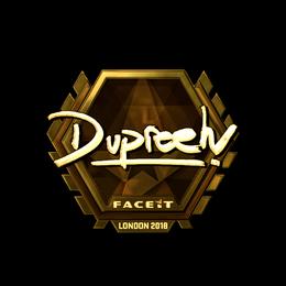 dupreeh (Gold) | London 2018