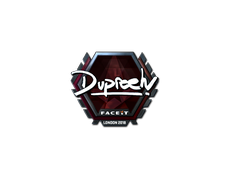 Skin Sticker | dupreeh (Foil) | London 2018