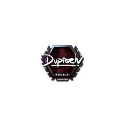 Sticker | dupreeh (Foil) | London 2018