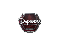 Skin Sticker | dupreeh | London 2018