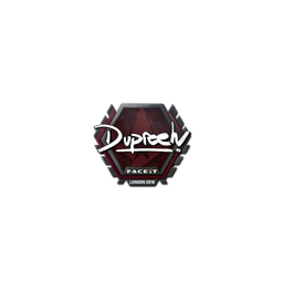 Sticker | dupreeh | London 2018