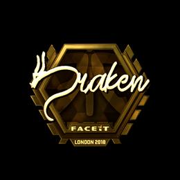 draken (Gold) | London 2018