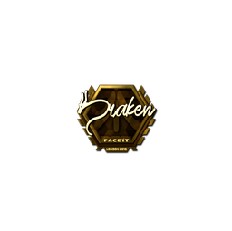 Sticker | draken (Gold) | London 2018