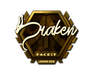 Skin Sticker | draken (Gold) | London 2018