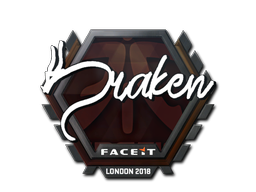 Sticker | draken | London 2018