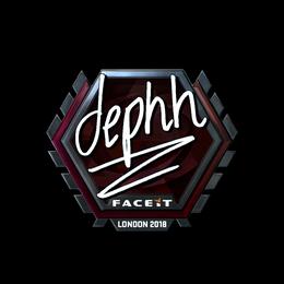 dephh (Foil)   London 2018