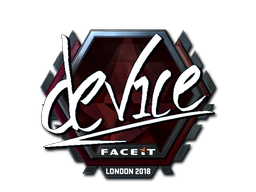 Sticker | device (Foil) | London 2018