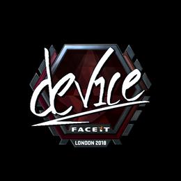 device (Foil) | London 2018