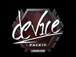 device | London 2018