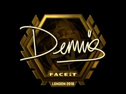 dennis | London 2018