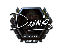 Sticker | dennis (Foil) | London 2018